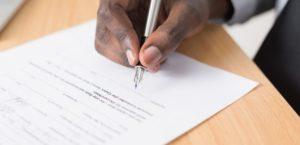 carta de rescisao de contrato de trabalho